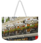 Paris Cafe Weekender Tote Bag by Elena Elisseeva