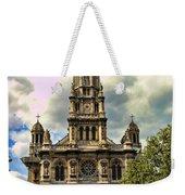 Paris Church Weekender Tote Bag