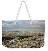 Paris City View Weekender Tote Bag