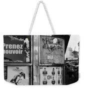 Paris Diner 2 Weekender Tote Bag