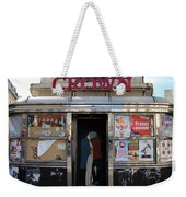 Paris Diner Weekender Tote Bag