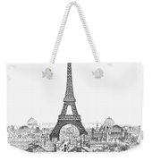 Paris Exhibition, 1889 Weekender Tote Bag