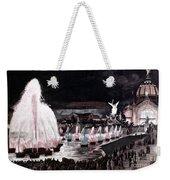Paris: Fountains, 1889 Weekender Tote Bag