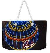 Paris Hotel Las Vegas Weekender Tote Bag
