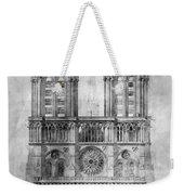 Paris: Notre Dame, 1848 Weekender Tote Bag