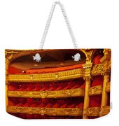 Paris Opera House Iv   Box Seats Weekender Tote Bag