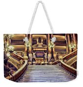 Paris Opera House Vii  Grand Stairway Weekender Tote Bag