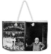 Paris Restaurant, 1890s - To License For Professional Use Visit Granger.com Weekender Tote Bag