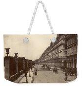 Paris: Rue De Rivoli, C1900 Weekender Tote Bag