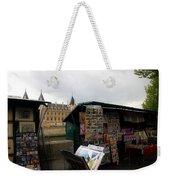 Paris Street Vendor 2 Weekender Tote Bag