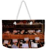 Paris Wine Shop Weekender Tote Bag