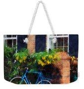Parked Bicycle Weekender Tote Bag
