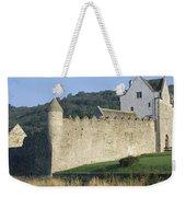Parkes Castle,co Sligo,irelandpanoramic Weekender Tote Bag