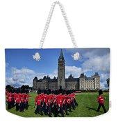 Parliament Building Ottawa Canada  Weekender Tote Bag by Garry Gay