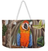 Parrot At New Orleans Zoo Weekender Tote Bag