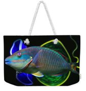 Parrot Fish With Glass Art Weekender Tote Bag