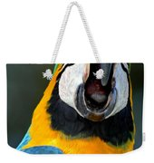 Parrot Squawking Weekender Tote Bag