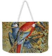 Parrots: Macaws, 19th Cent Weekender Tote Bag