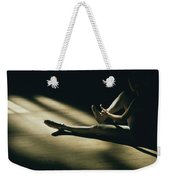 Partially Hidden In Shadow, A Ballet Weekender Tote Bag
