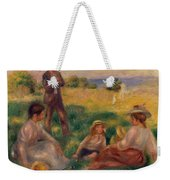 Party In The Country At Berneval Weekender Tote Bag