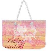 Party Invitation - General - Wild Azalea Blossoms Weekender Tote Bag