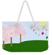 Party Over The Hill Weekender Tote Bag