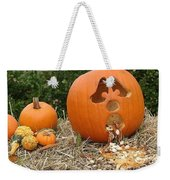 Party Pumpkin Weekender Tote Bag