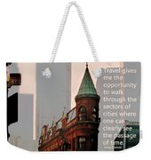 Passage Of Time Weekender Tote Bag