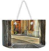 Passageway And Arch In Provence Weekender Tote Bag
