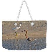 Passing Egrets Weekender Tote Bag