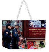 Passing Plaza Police Weekender Tote Bag