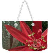 Passion Flower Blossom Costa Rica Weekender Tote Bag
