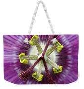 Passion Flower Close Up Weekender Tote Bag