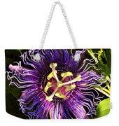 Passionflower Weekender Tote Bag by David Lee Thompson