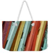 Pastel Chairs Still Life 2 Weekender Tote Bag