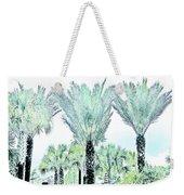 Pastel Palms Weekender Tote Bag