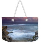 Pastel Storm Weekender Tote Bag by Mike  Dawson