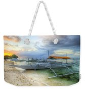 Pastel Sunrise Weekender Tote Bag