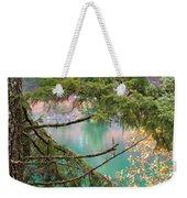 Pastels Emphasized Weekender Tote Bag