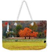 Pastoral Autumn Weekender Tote Bag