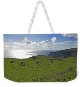 Pastoral Landscape Of Santa Maria Island Weekender Tote Bag