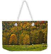 Pastoral Painted Weekender Tote Bag