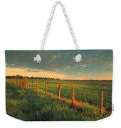 Pasture Sunrise Weekender Tote Bag