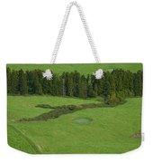 Pastures In Azores Islands Weekender Tote Bag