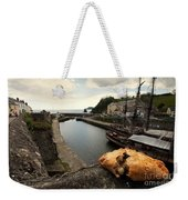 Pasty On The Harbour Weekender Tote Bag