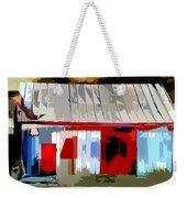 Patchwork Barn Weekender Tote Bag