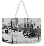 Patent Office During Presidential Inauguration - Washington Dc - C 1889 Weekender Tote Bag