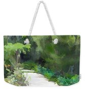 Path Into The Green Weekender Tote Bag