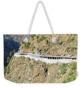 Path Leading To The Shrine Of Vaishno Devi Weekender Tote Bag