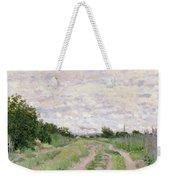 Path Through The Vines At Argenteuil Weekender Tote Bag